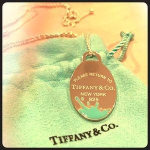 Tiffany & Co. Large Splash Pendant Necklace